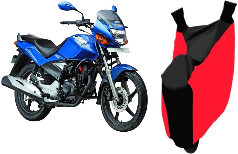 AutoKit Two Wheeler Cover for Honda(CBZ TYPE 1, Red, Black)