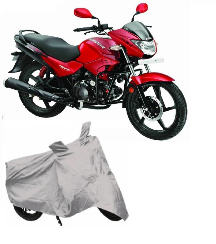 AutoKart Two Wheeler Cover for Hero(Glamour, Silver)