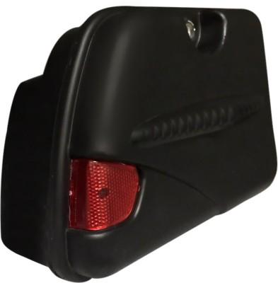 Speedwav One-side Black Fiber Glass Motorbike Saddlebag(4.8 L)