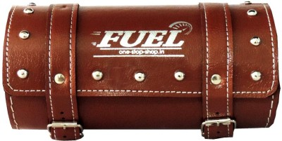 OSS-FUEL Saddle Bag For Avenger , Aquila One-side Brown Leatherette Motorbike Saddlebag