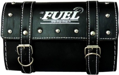 OSS-FUEL Saddle Bag Premium For Avenger , Aquila One-side Black Leatherette Motorbike Saddlebag