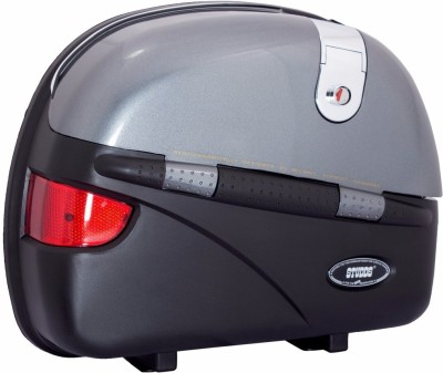 Studds One-side Grey, Black Fiber Glass Motorbike Saddlebag