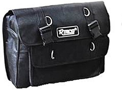 KASCN UNIVERSAL FILE TYPE ONE SIDED BAG FOR ALL MOTORCYCLES One-side Black Fabric Motorbike Saddlebag