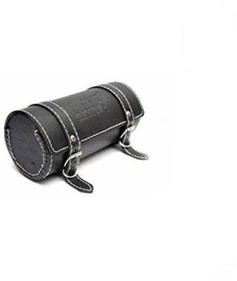 AutoStark One-side Black Leatherette Motorbike Saddlebag