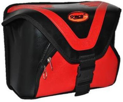 KASCN UNIVERSAL GALAXY TYPE ONE SIDED BAG FOR ALL MOTORCYCLES One-side Red Fabric Motorbike Saddlebag