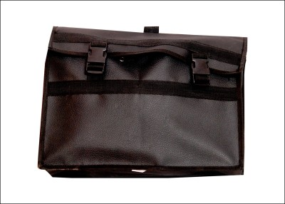 SBM + One-side Black Leatherette Motorbike Saddlebag