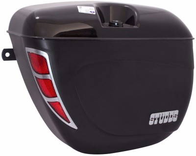 Studds One-side Black Fiber Glass Motorbike Saddlebag
