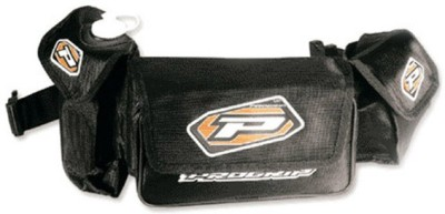 Progrip Progrip PG-9410 Black One-side Black Leatherette Motorbike Saddlebag