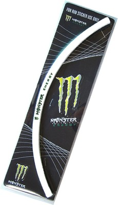Monster Motorcycle Rim Sticker