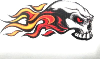 SHIONG Motorcycle Tank Sticker