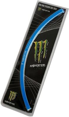 Monster Motorcycle Rim Sticker