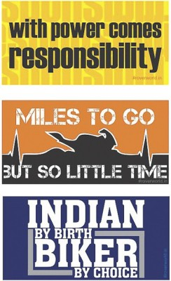 ROVER Motorcycle Tank Sticker(Pack of 3)