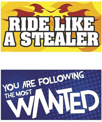 ROVER Motorcycle Tank Sticker(Pack of 2)