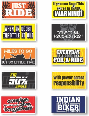 Rover Motorcycle Tank Sticker(Pack of 10)