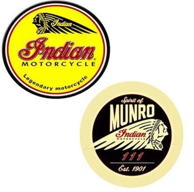 BikeNwear Motorcycle Design Sticker(Pack of 2)