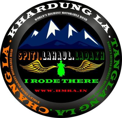 HMRA Power Motorcycle Tank Sticker