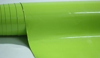 Wrap-O-Graphy Bike Wrapping Vinyl Gloss Grass Green (Material for One Vehicle for all Kinds of Bike & Scooters) Motorcycle Design Sticker