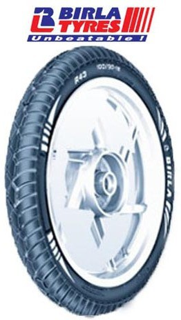 Birla 100/90-18 FIREMAXX R43 (TL) DOM Tube Less Tyre(Suitable For Motor Cycles)