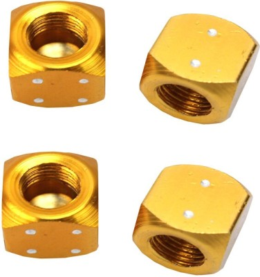 Futaba Gold Plated Tyre Valve Cap for Car