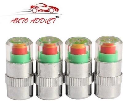 Auto Addict Iron Tyre Valve Cap for Car(Cylinder)