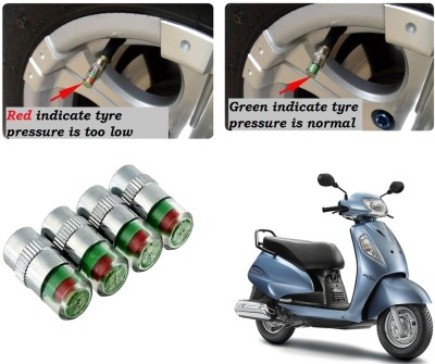 Auto Pearl Brass Tyre Valve Cap for Bike