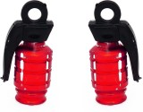 Speedwav Iron Tyre Valve Cap for Bike (G...