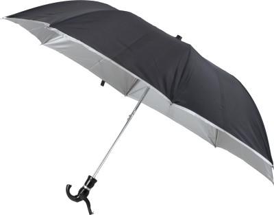 Classique Large Travel with Crook Handle Umbrella