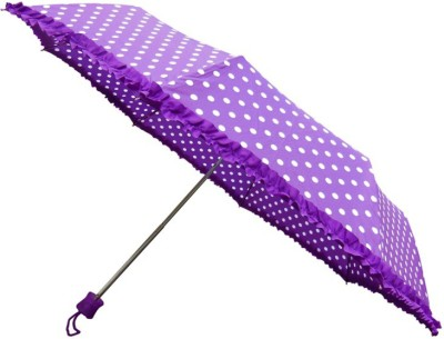 China Random Color Bobby Print 4 Fold 22 inch Umbrella