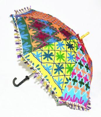 Lal Haveli Rajasthani Embroidery Design Umbrella