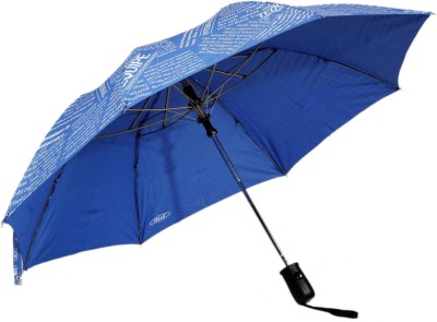 Tello 2 Fold paper Print Dark Blue Umbrella