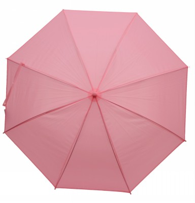 Elegance Light Pink 1 Fold Plain Umbrella
