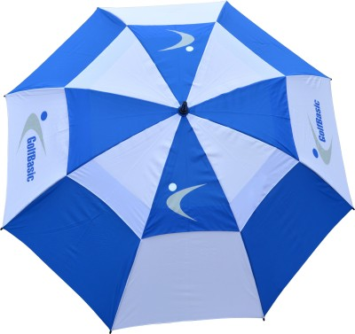 Golfbasic Blue/White Stormbuster Umbrella