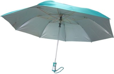 Fendo Auto Open 2 Fold Nylon Women Strawberry _c Umbrella