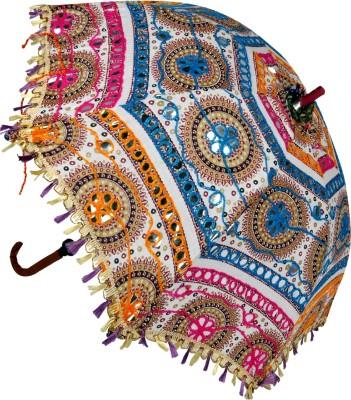 Lal Haveli Single Fold Designer Umbrella