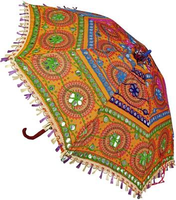 Lal Haveli Ethnic Cotton Ladies Summer Designer Umbrella