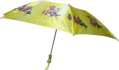 Fendo Avon kim_B 2 Fold gold color Umbrella(Gold Color)