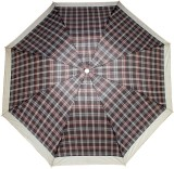 LUXANTRA Printed 3 Fold Umbrella (Brown,...
