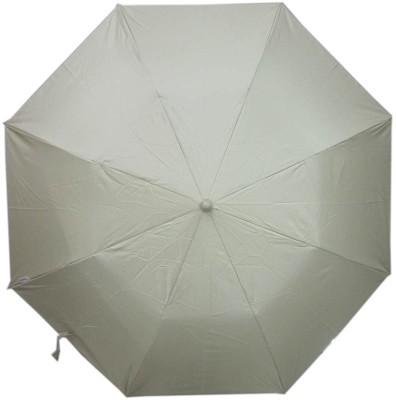 Fendo Auto Open 2 Fold Nylon Women Strawberry _l Umbrella(Grey)