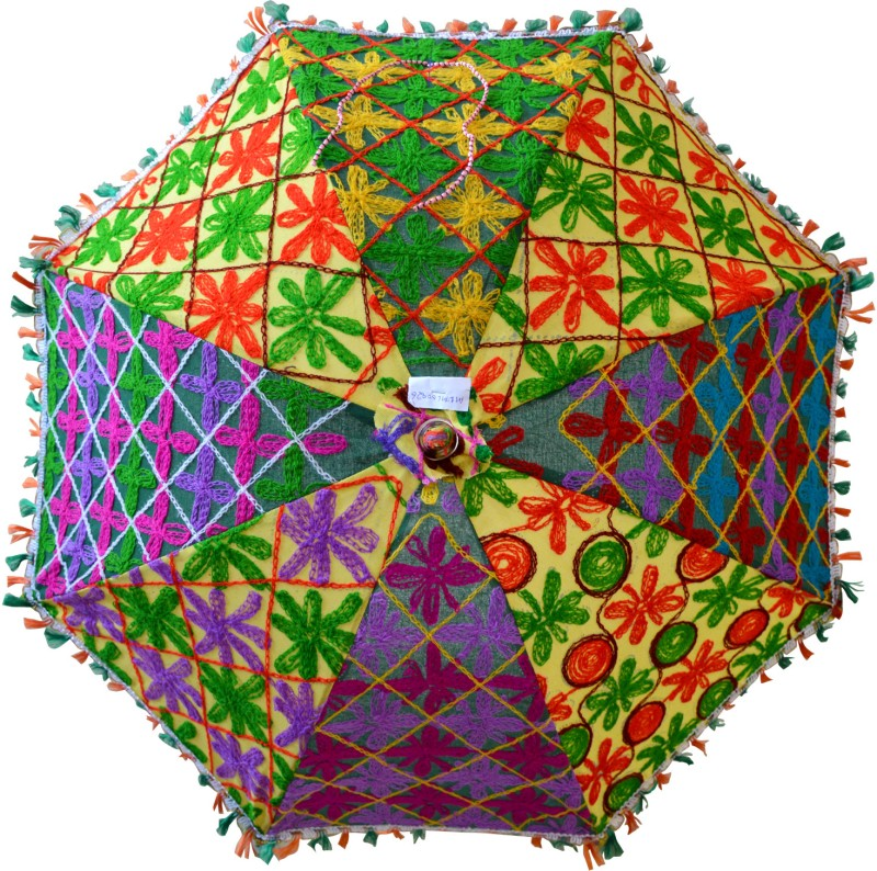 Marusthali MUML00026 Umbrella(Multicolor)