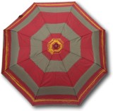 Happy Swan 3674A Umbrella (Red/Grey/Yell...