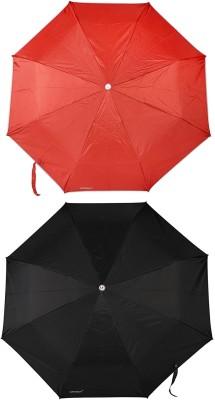 Bizarro Plain Combo-3-Fold Heavy Quality (Set of 2) A Umbrella