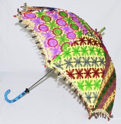 Lal Haveli Womens Summer Single Fold Umbrella