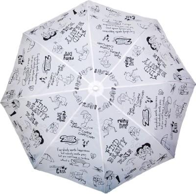 Cheeky Chunk Girls Rain Doodle Umbrella