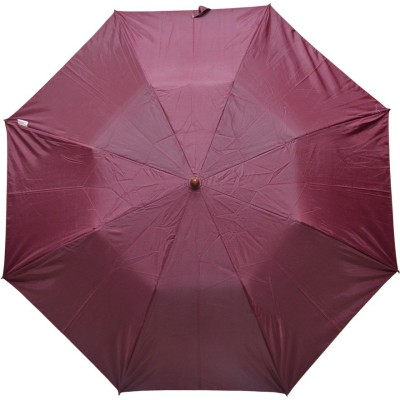 Fendo 2 fold Mehroon Color women umbrella _400114_L Umbrella(Purple)