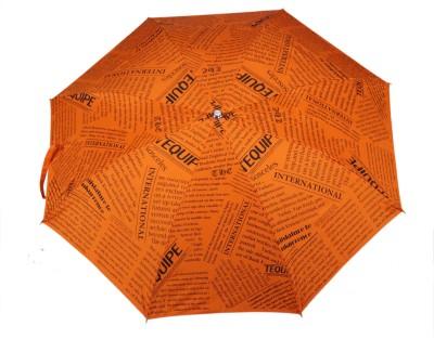 Tello 2 Fold paper Print Orange Umbrella