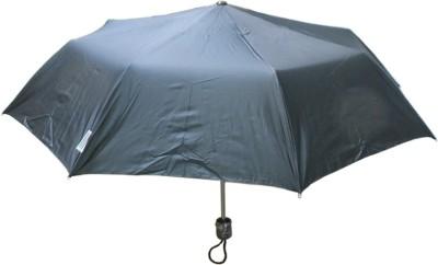 MOTHERLAND 3 Fold Black Silver Coated Umbrella