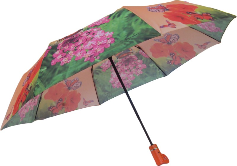 3 Fold Automatic Open Umbrella(Orange)