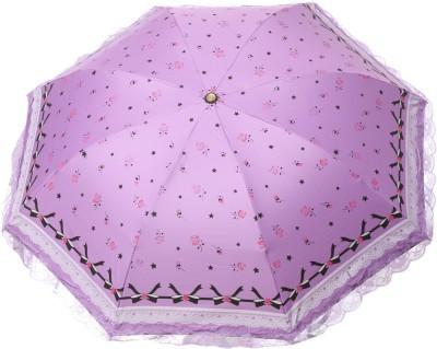 Modish Vogue UM_NET FRILL_PURPLE Umbrella