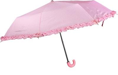 Bizarro Polka Dot 3-Fold Umbrella