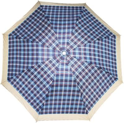 PeepalComm 8 Stick 3 Fold Printed Umbrella